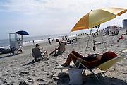 Impressions of Atlantic City, Aug. 4-5, 2005. On the beach.