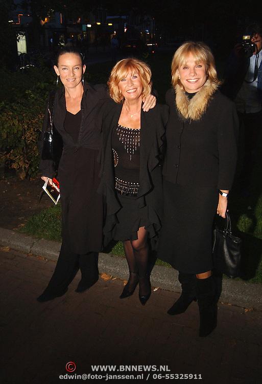 Premiere Ramses, Willeke Alberti en Monique van der Ven