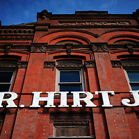 R. Hirt Jr. store front at Eastern Market, Detroit Michigan