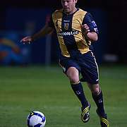 Predrag Bojic  in action during the group H group stage match between the Central Coast Mariners of Australia and Pohang Steelers of Korea in Gosford, Australia on March 11 2009, The match ended in a 0-0 draw. Photo Tim Clayton