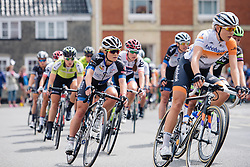 Emilie Moberg (Hitec Products) at Aviva Women's Tour 2016 - Stage 1. A 138.5 km road race from Southwold to Norwich, UK on June 15th 2016.