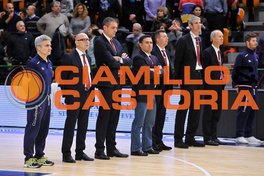 DESCRIZIONE : Campionato 2014/15 Dinamo Banco di Sardegna Sassari - Victoria Libertas Consultinvest Pesaro<br /> GIOCATORE : Staff Tecnico<br /> CATEGORIA : Allenatore Coach Before<br /> SQUADRA : Victoria Libertas Consultinvest Pesaro<br /> EVENTO : LegaBasket Serie A Beko 2014/2015<br /> GARA : Dinamo Banco di Sardegna Sassari - Victoria Libertas Consultinvest Pesaro<br /> DATA : 17/11/2014<br /> SPORT : Pallacanestro <br /> AUTORE : Agenzia Ciamillo-Castoria / Luigi Canu<br /> Galleria : LegaBasket Serie A Beko 2014/2015<br /> Fotonotizia : Campionato 2014/15 Dinamo Banco di Sardegna Sassari - Victoria Libertas Consultinvest Pesaro<br /> Predefinita :