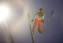Jakub Janda (CZE) competes during First round of the FIS Ski Jumping World Cup event of the 58th Four Hills ski jumping tournament, on January 6, 2010 in Bischofshofen, Austria. (Photo by Vid Ponikvar / Sportida)