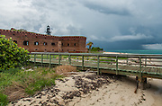 Fort Jefferson, Garden Key Lighthouse and Thunderstorm.jpg