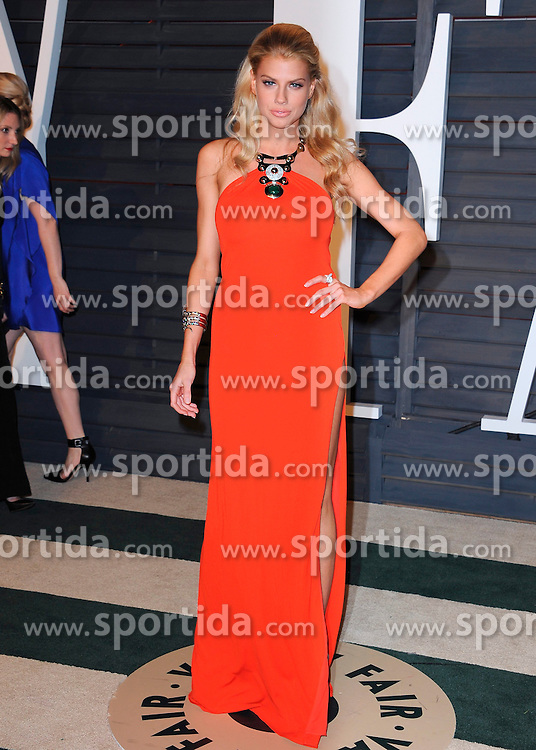 22.02.2015, Wallis Anneberg Center for the Performing Arts, Beverly Hills, USA, Vanity Fair Oscar Party 2015, Roter Teppich, im Bild Charlotte McKinney // during the red Carpet of 2015 Vanity Fair Oscar Party at the Wallis Anneberg Center for the Performing Arts in Beverly Hills, United States on 2015/02/22. EXPA Pictures &copy; 2015, PhotoCredit: EXPA/ Newspix/ PGSK<br /> <br /> *****ATTENTION - for AUT, SLO, CRO, SRB, BIH, MAZ, TUR, SUI, SWE only*****