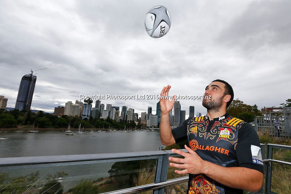 Charlie Ngatai of the Chiefs, The Brisbane Global Ten's Rugby Launch - outh Bank , Brisbane Australia, 4 AUgust 2016.Copyright Image: www.Photosport.nz