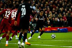 Hee-Chan Hwang of FC Salzburg - Mandatory by-line: Robbie Stephenson/JMP - 02/10/2019 - FOOTBALL - Anfield - Liverpool, England - Liverpool v Red Bull Salzburg - UEFA Champions League Group Stage