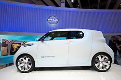 Nissan Townpod zero emission electric concept car at Paris Motor Show 2010