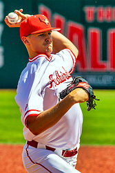 20 May 2019:  Brent Headrick. Missouri Valley Conference Baseball Tournament - Southern Illinois Salukis v Illinois State Redbirds at Duffy Bass Field in Normal IL<br /> <br /> #MVCSPORTS