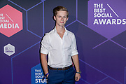 2019, June 13. Casco, Amsterdam, the Netherlands. Casper Feddema at The Best Social Awards 2019.