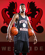 Omaha Westside's Anthony Bratton poses for a portrait at Omaha Westside High School on Wednesday, Jan. 20, 2016, in Omaha. The 6-foot-6-inch junior currently leads the team in scoring.