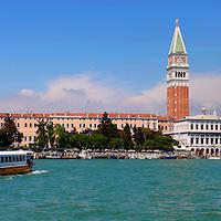 Alberto Carrera, Panoramic View, Venice, Veneto, Italy, Europe