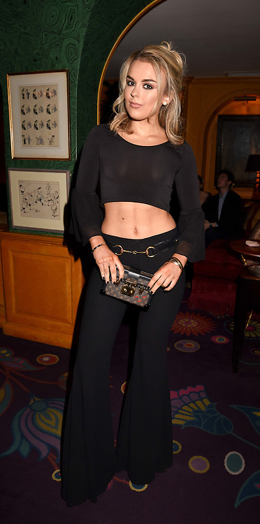 Tallia Storm at the Annabel's Bright Young Things Party held at Annabel's, 44 Berkeley Square, London England. 16 February 2017.