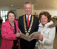 Maura Diviney Renmore Active Retirement , Mayor of County Galway Cllr Liam Carroll and Josephine Naughton  Mervue Active Retirement <br />  at NUIG for the launch of the Galway Age Friendly Strategy, which sets out a plan to make Galway City and County a great place in which to grow up and grow old. The Strategy was developed following extensive consultation with older people across the city and county and aims to ensure that older people continue to be supported to play an active role in their communities. The launch of the strategy is an important milestone as it sets out a blueprint for how we will plan and develop communities in the coming years to ensure that Galway is a truly great place in which to grow up and grow old. Photo:Andrew Downes