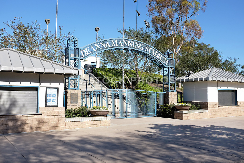 Entrance to Deanna Manning Stadium