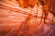 Eroded sandstone formations, Valley of Fire State Park, Nevada USA