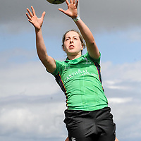 "REPRO FREE<br /> Emma Murphy from the Railway Union team from Sandymount Dublin in the Line-Out at the The Heineken Kinsale 7s over the May Bank Holiday weekend.<br /> Picture. John Allen<br /> <br /> *** PRESS RELEASE *** <br /> Friday 29th April 2016<br /> <br /> 2016 HEINEKEN KINSALE 7s KICKS OFF<br /> The Heineken Kinsale 7s takes place in Kinsale over the May Bank Holiday weekend, 30th April & 1st May and is always a popular festival for players and supporters with thousands of visitors expected in the seaside town.<br /> Now in its 28th year, the Heineken Kinsale 7s is Ireland's largest rugby 7s tournament and builds on its success each year. It promises to be an action-packed weekend of competitive men and women's running rugby for an attractive prize fund, trophies and medals. <br /> Kinsale RFC welcomes the Rah Rah Roosters from The Netherlands, the Wooden Spoon Marauders and Forces Exiles from the UK and two Dublin teams, The Wild Geese and UCD to the Men's Elite Competition. <br /> Defending Men's Open Champions, The Lightning Bolts return to Kinsale in the hope of making it 'four in a row,' with players from Dublin and the UK. However, there are a number of teams keen to take them on, including the Session Mott's from Kilkenny, Lloyds RFC from London, Lettuce Entertain You from Dublin and host club Kinsale RFC.<br /> The Men's Social Competition mixes quality 7s rugby with some fantastic fancy dress and great craic off the pitch too. The Cookie Monsters, The Ruckaroos, The Baa Baas, Topsham Tourists and Prestige Worldwide are just some of the social teams participating over the weekend.<br /> In the women's competition, the French Navy team and WRR Ravens, an invitational side from Canada and Ireland return to the Kinsale 7s this year as do The Pink Ladies, You Well and the Bandon Avengers. An IRFU development team that is sure to cause great interest and excitement throughout the tournament.<br /> Pat Maher, Event and Sponsorship Manager, Heineken Ireland said: ""Heineken, alongside our business partners in Kinsale a"
