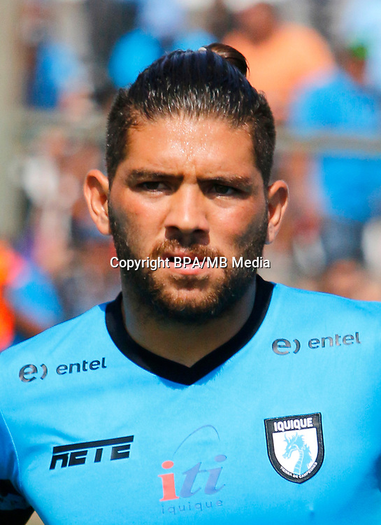 Chile Football League First Division - <br /> Scotiabank Tournament - 2016-2017 - <br /> ( Club de Deportes Iquique ) - <br /> Diego Torres