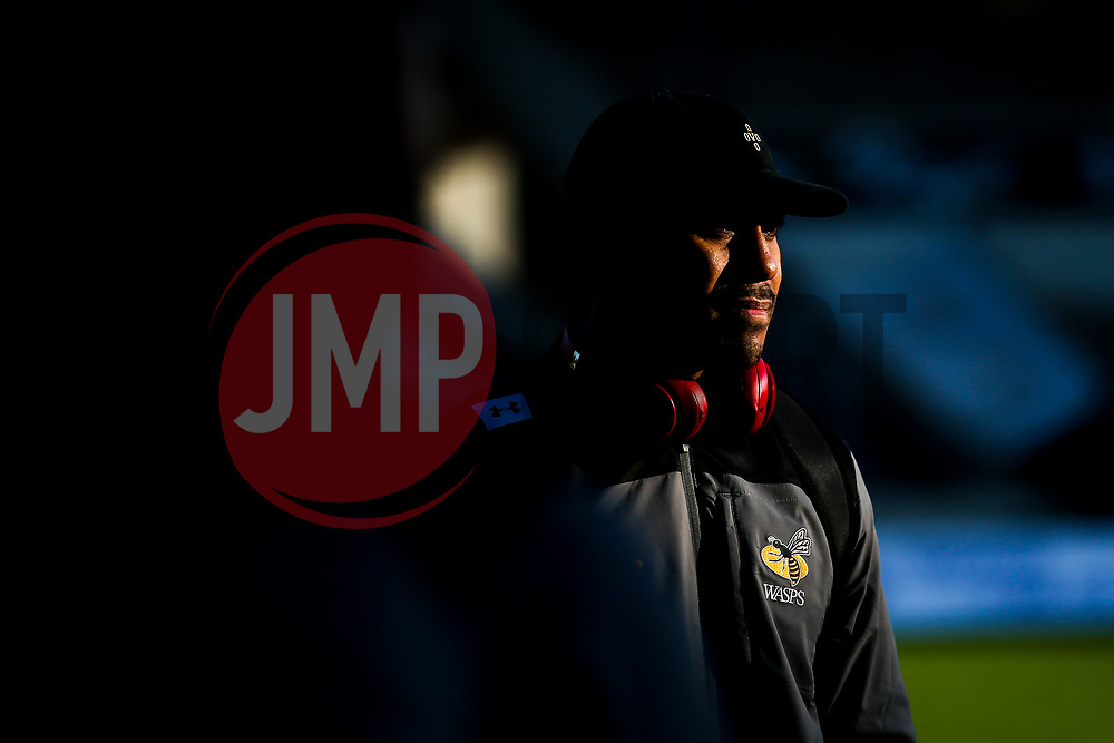 Malakai Fekitoa of Wasps arrives at The State Jacques Chaban-Delmas, home of Bordeaux-Begles - Mandatory by-line: Robbie Stephenson/JMP - 15/11/2019 - RUGBY - Stade Jacques Chaban-Delmas - Bordeaux,  - Bordeaux-Begles v Wasps - European Rugby Challenge Cup