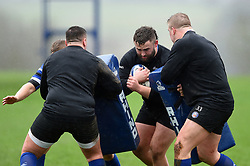 Will Stuart in action - Mandatory byline: Patrick Khachfe/JMP - 07966 386802 - 16/01/2020 - RUGBY UNION - Farleigh House - Bath, England - Bath Rugby Training Session