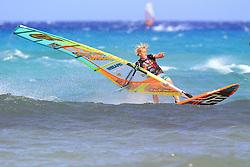 26.07.2015, Costa Calma, Fuerteventura, ESP, PWA Windsurfing Freestyle Grand Slam, im Bild Caers YentelB-16 // during the PWA Windsurfing Freestyle Grand Slam at the Costa Calma in Fuerteventura, Spain on 2015/07/26. EXPA Pictures © 2015, PhotoCredit: EXPA/ Eibner-Pressefoto/ Roskaritz<br /> <br /> *****ATTENTION - OUT of GER*****