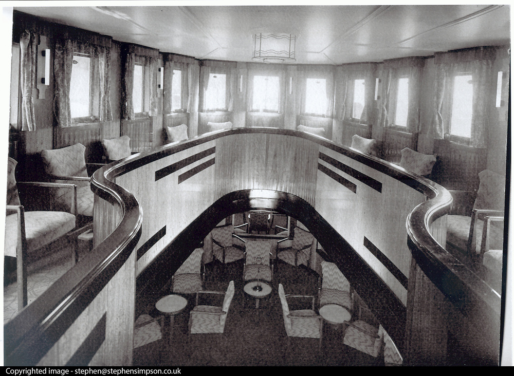 ****COPY HERE****  (https://www.dropbox.com/s/5mg81qiiuy22tre/adamson.rtf?dl=0)   © Licensed to London News Pictures. 02/12/2014. Liverpool , UK . The Saloon deck in its heyday. The only surviving steam powered tug tender, the Daniel Adamson, is being completely renovated by a team of volunteers in Liverpool. The vessel, which has had 90,000 man hours already spent on it, was bought for only one pound is the awaiting the decision of the Heritage LotteryFund on an application of £3.6m to bring her back to her full glory.  . Photo credit : Stephen Simpson/LNP<br /> <br /> COPY HERE https://www.dropbox.com/s/5mg81qiiuy22tre/adamson.rtf?dl=0