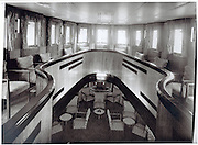 ****COPY HERE****  (https://www.dropbox.com/s/5mg81qiiuy22tre/adamson.rtf?dl=0)   © Licensed to London News Pictures. 02/12/2014. Liverpool , UK . The Saloon deck in its heyday. The only surviving steam powered tug tender, the Daniel Adamson, is being completely renovated by a team of volunteers in Liverpool. The vessel, which has had 90,000 man hours already spent on it, was bought for only one pound is the awaiting the decision of the Heritage Lottery Fund on an application of £3.6m to bring her back to her full glory.  . Photo credit : Stephen Simpson/LNP<br /> <br /> COPY HERE https://www.dropbox.com/s/5mg81qiiuy22tre/adamson.rtf?dl=0