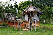 House near El Brujito, Sierra de Rosario, Artemisa, Cuba.