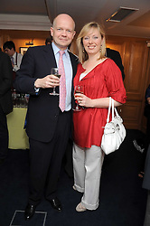 WILLIAM HAGUE MP and his wife FFION at the Spectator Summer Party held at 22 Old Queen Street, London SW1 on 3rd July 2008.<br /><br />NON EXCLUSIVE - WORLD RIGHTS
