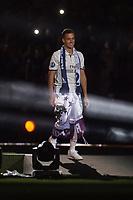 Real Madrid Lucas Vazquez during the celebration of the 13th UEFA Championship at Santiago Bernabeu Stadium in Madrid, June 04, 2017. Spain.<br /> (ALTERPHOTOS/BorjaB.Hojas)