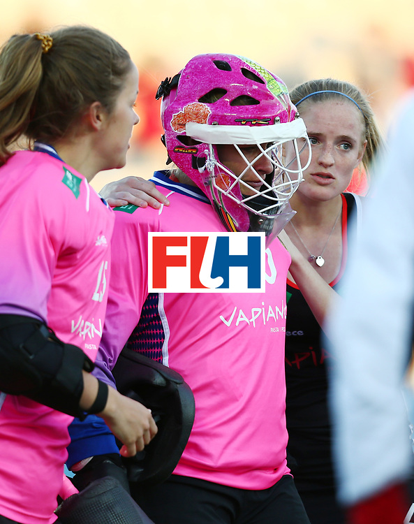 New Zealand, Auckland - 22/11/17  <br /> Sentinel Homes Women&rsquo;s Hockey World League Final<br /> Harbour Hockey Stadium<br /> Copyrigth: Worldsportpics, Rodrigo Jaramillo<br /> Match ID: 10303 - GER vs KOR<br /> Photo: (20) CIUPKA Julia (GK)