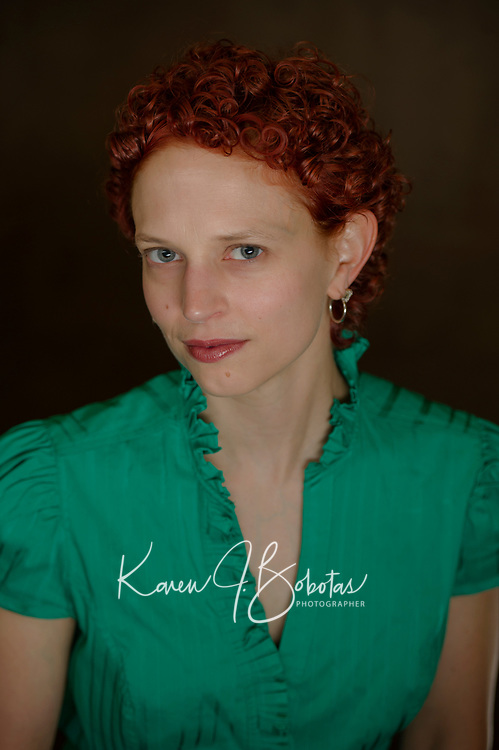 Headshot session with Katie Dunn.  ©2017 Karen Bobotas Photographer