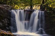 "Waterfall in ""Kostina"" park near village of Ribaritsa"