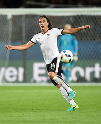 Julian Baumgartlinger of Austria  - Mandatory by-line: Joe Meredith/JMP - 18/06/2016 - FOOTBALL - Parc des Princes - Paris, France - Portugal v Austria - UEFA European Championship Group F