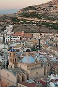 City view from Gran Sol hotel, Alicante, Costa Blanca, Spain,Europe
