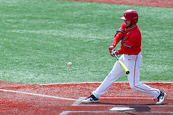 NORMAL, IL - April 08: John Rave during a college baseball game between the ISU Redbirds  and the Missouri State Bears on April 08 2019 at Duffy Bass Field in Normal, IL. (Photo by Alan Look)