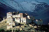 Inde - Province du Jammu Cachemire -  Ladakh - Monastère bouddhiste de Likir