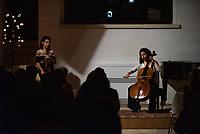 Chouchane Siranossian<br /> and  Astrig Siranossian<br /> <br /> 20.09.2019 Palazzo Sangiovanni<br /> Alessano (LECCE)