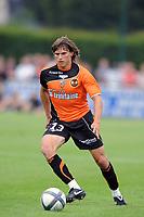 FOOTBALL - FRIENDLY GAMES 2010/2011 - STADE RENNAIS v FC LORIENT - 24/07/2010 - PHOTO PASCAL ALLEE / DPPI - SEBASTIAN DUBARBIER (LOR)