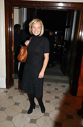 MARIELLA FROSTRUP at The Hospital Awards - to honour talent in the creative industry, held at 9 Grosvenor Place, London on 3rd october 2006.<br />