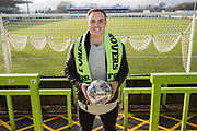 Cameron Belford signs for Forest Green Rovers  at the New Lawn, Forest Green, United Kingdom on 26 January 2018. Photo by Shane Healey.