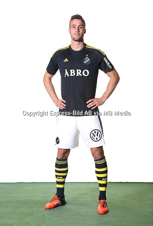 Fredrik Brustad<br /> Helfigur<br /> @Leverans<br /> Allsvenskan 2016<br /> Fotboll