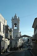 Iglesia San Francisco from Ravelo Street, Sucre, Bolivia