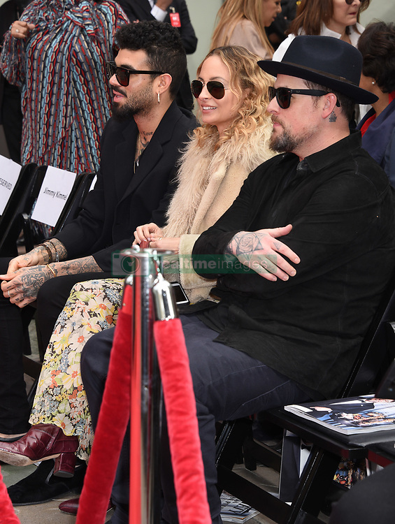 Lionel Richie Handprints and Footprints at the Lionel Richie Hand and Footprints Ceremony at the TCL Chinese Theatre on March 7, 2018 in Hollywood, Ca. © Janet Gough / AFF-USA.COM. 07 Mar 2018 Pictured: Miles Richie, Nicole Richie and Benji Madden. Photo credit: MEGA TheMegaAgency.com +1 888 505 6342