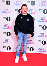 Radio 1's teen hero Harrison attending BBC Radio 1's Teen Awards, at the SSE Arena, Wembley, London.