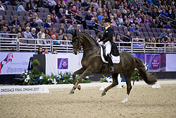 Oatley Kristy, AUS, Du Soleil<br /> Grand Prix de Dressage<br /> FEI World Cup Dressage Final, Omaha 2017 <br /> © Hippo Foto - Dirk Caremans<br /> 30/03/2017