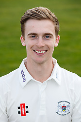 Craig Miles of Gloucestershire Cricket poses for a headshot in the County Championship kit - Mandatory byline: Rogan Thomson/JMP - 04/04/2016 - CRICKET - Bristol County Ground - Bristol, England - Gloucestershire County Cricket Club Media Day.