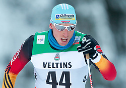 30.11.2014, Nordic Arena, Ruka, FIN, FIS Weltcup Langlauf, Kuusamo, 15 km Herren, im Bild Tim Tscharnke (GER) // Tim Tscharnke of Germany during Mens 15 km Cross Country Race of FIS Nordic Combined World Cup at the Nordic Arena in Ruka, Finland on 2014/11/30. EXPA Pictures © 2014, PhotoCredit: EXPA/ JFK