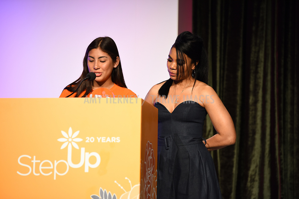 Step Up student Romina and actress Regina Hall