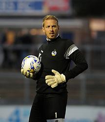 Steve Mildenhall - Mandatory byline: Neil Brookman/JMP - 07966 386802 - 06/10/2015 - FOOTBALL - Memorial Stadium - Bristol, England - Bristol Rovers v Wycombe Wanderers - JPT Trophy